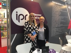 IPR License Jane and Brittany on the LBF stand