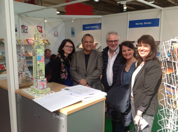 IPR License Peter Murray at LBF with Auchan France