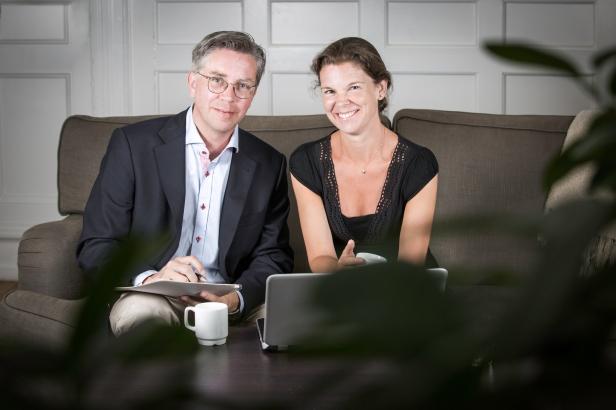 Åsa Bengtsson and Peter Börjesson